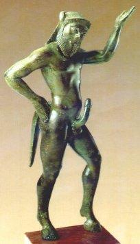 Greek Satyr - 2500 years old sculpture
