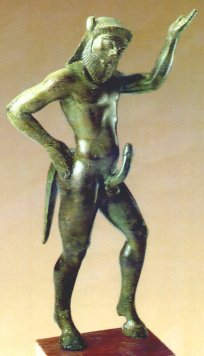 Greek Satyr - 2500 years old sculpture