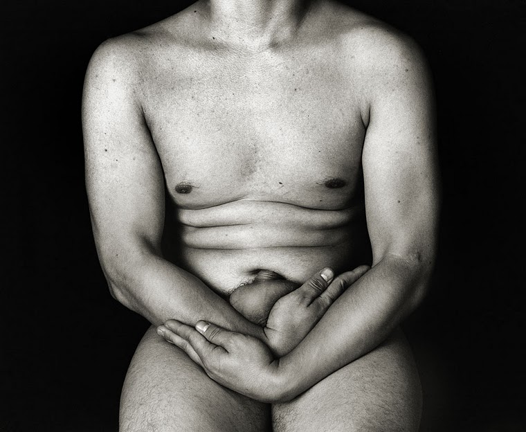 A photograph of a male nude by Savannah College of Art & Design student ...