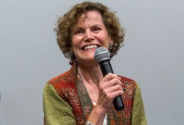 Banned author Judy Blume spoke out against the banning of 'Perks' at an Illinois school district.